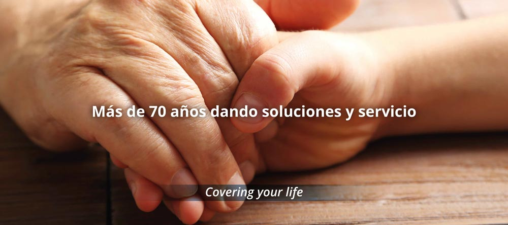 Más de 70 años dando soluciones y servicios